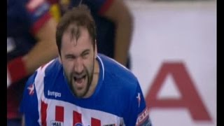 2012/13.- BM Atlético Madrid 25 Vs FC Barcelona Intersport 20 (Champions League - 1/4 Ida)