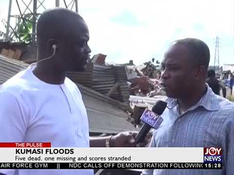 Kumasi Floods - The Pulse on JoyNews (29-6-18)