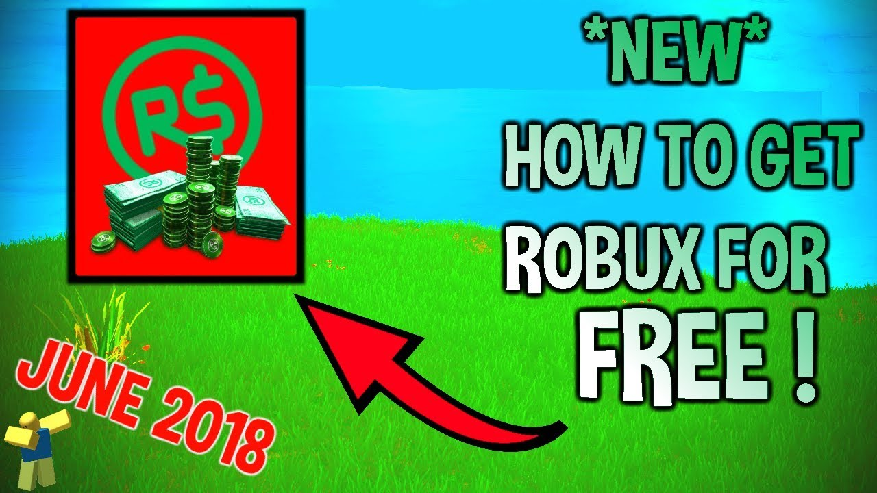 free robux no verification or survey 2018