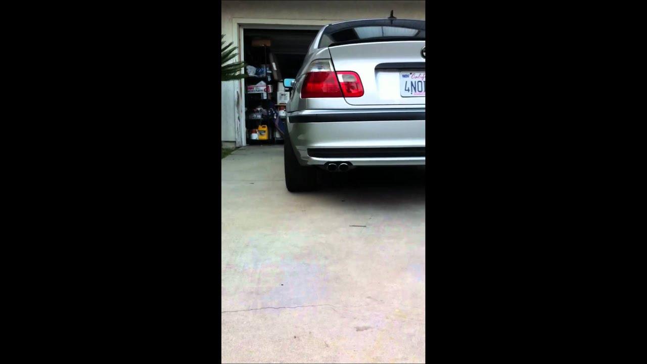 Bmw E46 325i Wheel Spacers Youtube