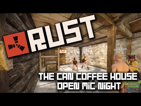 RUST - The Can Coffee House - Open Mic Night