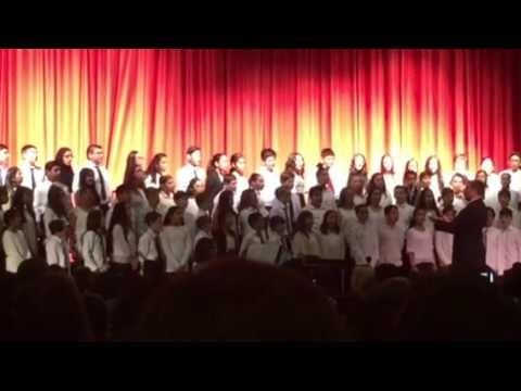 """I will sing my song"" - 6th grade chorus"