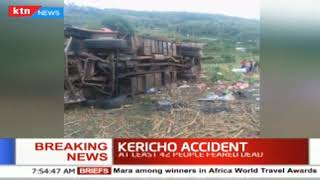 At least 42 people killed in Kericho road crash