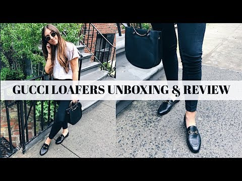 40e7ded0532 GUCCI BRIXTON LOAFERS REVIEW 2018 WHICH GUCCI LOAFER TO BUY - YouTube