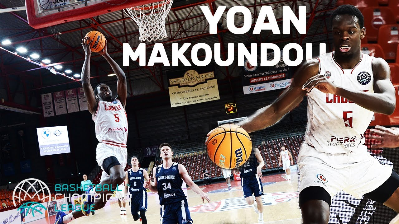 Next French NBA-Prospect? Yoan Makoundou Highlights
