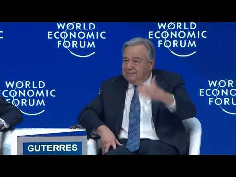 Davos 2019 - Special Address by António Guterres, Secretary-General of the United Nations
