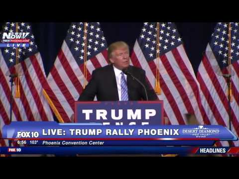 MAJOR TRUMP IMMIGRATION PLAN: Watch As Donald Trump Outlines His Immigration Executive Plan FNN