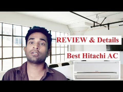 [Review] Hitachi Split AC 1/1.5 TON 4 Star BEST Inverter AC by Hitachi 2020