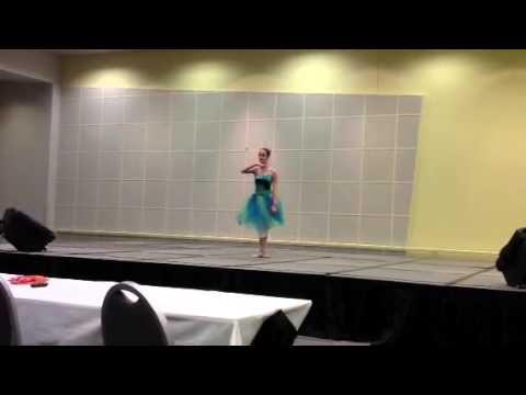 Rebecca's ballet dance at Fine arts
