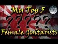 My Top 5 Female Japanese Guitarists