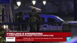Fusillade à Strasbourg : Échanges de coups de feu entre la police et l'assaillant