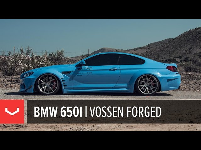 Prior Design BMW 650i Widebody | Vossen Forged VPS-306