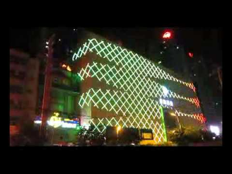 Charming outdoor display--qingdao shopping mall project