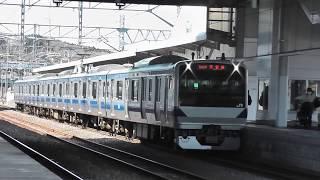 【発車メロディーフルコーラス!】 E531系K456編成、泉駅到着~発車まで