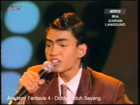 Akademi Fantasia 4 - Diddy - Aduh Sayang