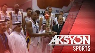 Mighty Sports PH, third place sa Dubai Int'l Basketball Championships