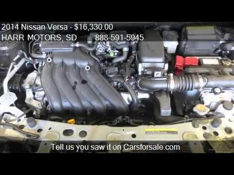 2014 Nissan Versa 1 6 Sv For Sale In Aberdeen Sd 57401