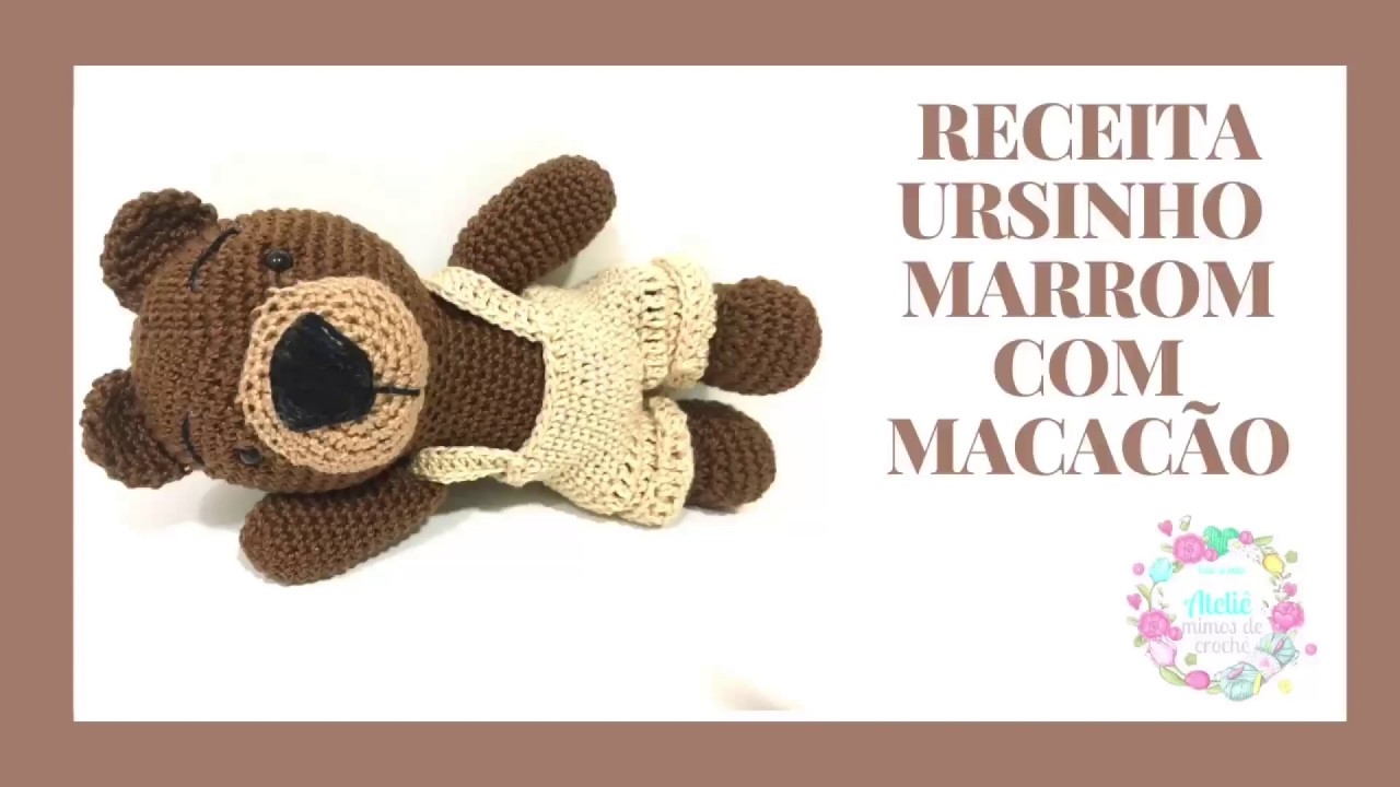 Ursinho de crochê para bebês no Elo7 | Chely´s Baby (E73A70) | 720x1280