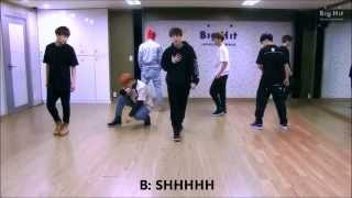 Boy In Luv - BTS (Dance Practice)_Reaction VM Resimi
