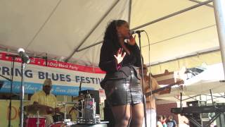 At Last - The Stacy Brooks Band at the Silver Spring Blues Festival 2014