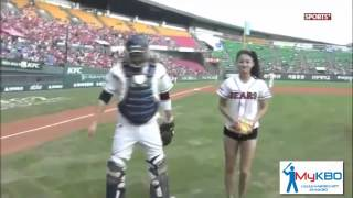 mini sports 迷你運動 南韓職棒開球