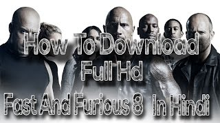 download the fast and the furious 8 in hindi 720p