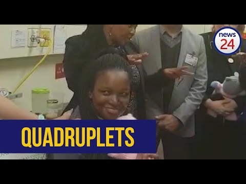 WATCH: Cape Town woman gives birth to quadruplets