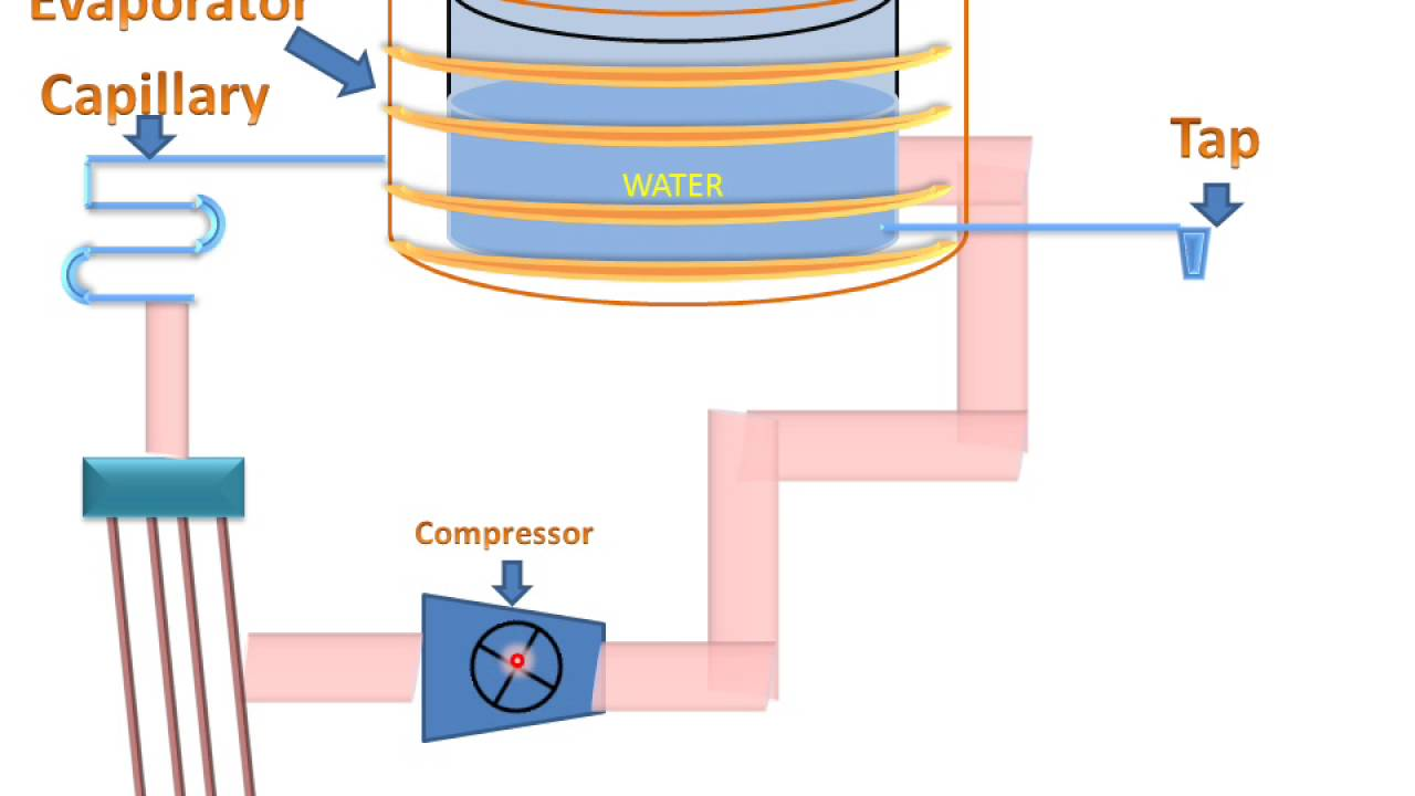 LEARN AND GROW !! WATER COOLER(PARTS & WORKING) !  YouTube