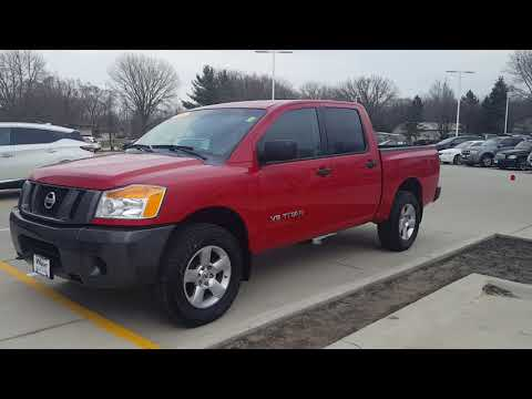 2008 Nissan Titan 4x4 at Dave Wright Nissan! Rare Find!