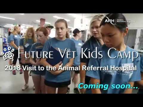 Future Vet Kids Camp 2018 @ ARH Sydney