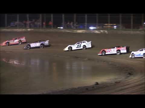 Late Model Heat #1 from Portsmouth Raceway Park August 18th, 2018.