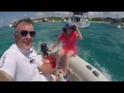 British Virigin Islands (BVI) - Yachting Sailing March 2016