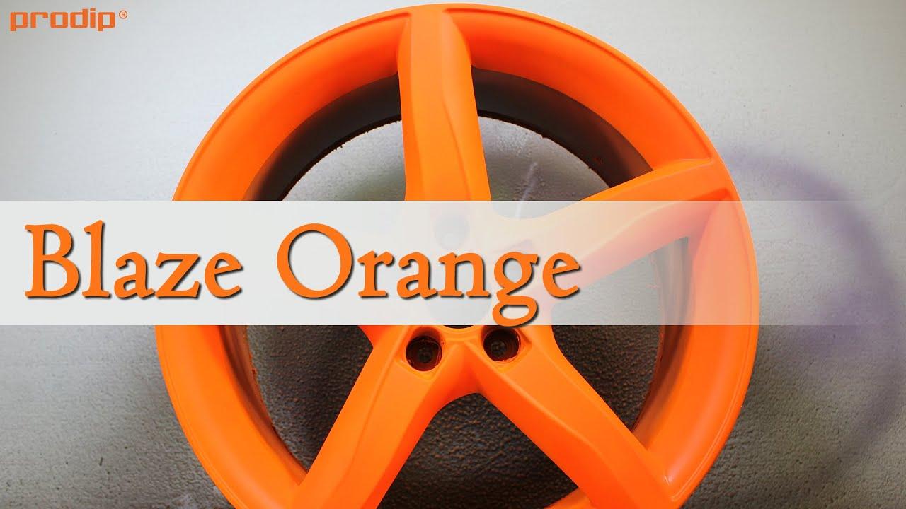 blaze orange over plasti dip white youtube. Black Bedroom Furniture Sets. Home Design Ideas