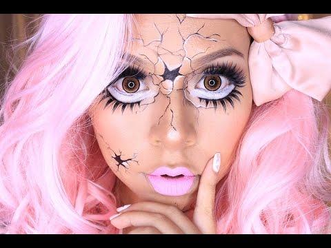 maquillaje muñeca rota