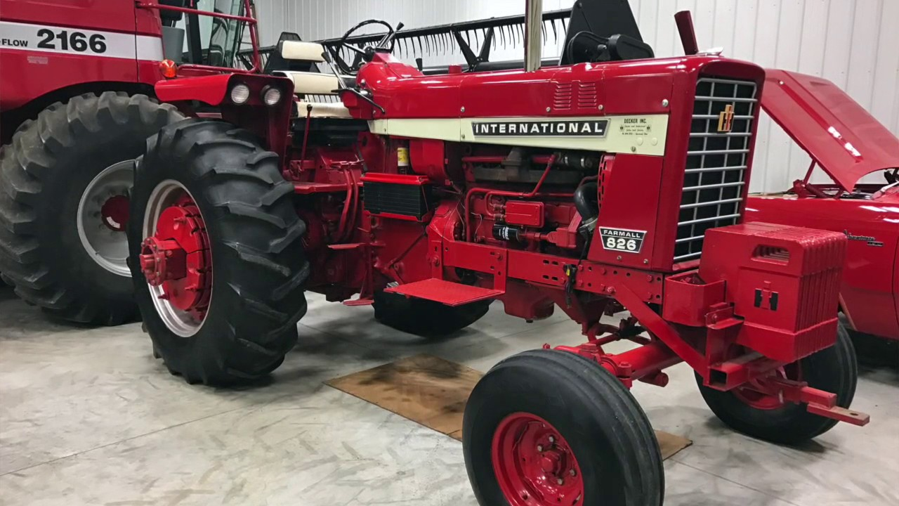 Gold Demonstrator IH 826 Hydro | Posted | Pinterest | Ih and Tractor
