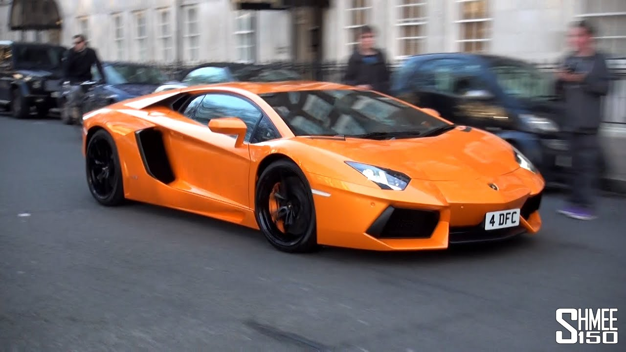 Orange Lamborghini Aventador: Lamborghini Aventador In Rare 'Arancio Atlas' Orange