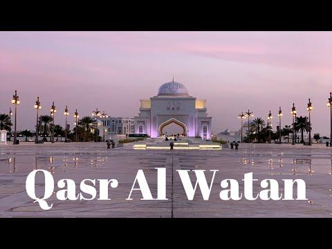 Visit to Qasr Al Watan Palace & Library | Abu Dhabi, UAE 🇦🇪 VLOG