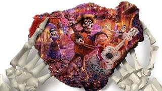 Green Screen Mad Mattr Kinetic Sand Funny Magic Show Disney Pixar Coco Miguel Hector for Kids