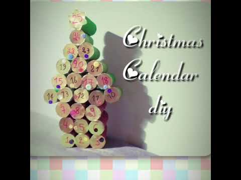 DIY advent calendar ♡ SugarMama.gr