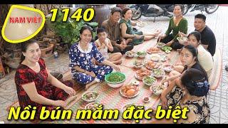 Nấu bún mắm theo cách làm bún nước lèo - Chúc mừng sinh nhật Xuyến - Nam Việt 1140