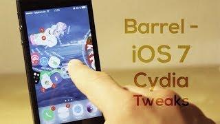 Barrel - iOS 7 Cydia Tweak Review - 3D Animationen