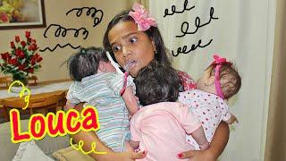 Обложка на видео - ROTINA DE UMA MAMÃE REBORN - NOITE!