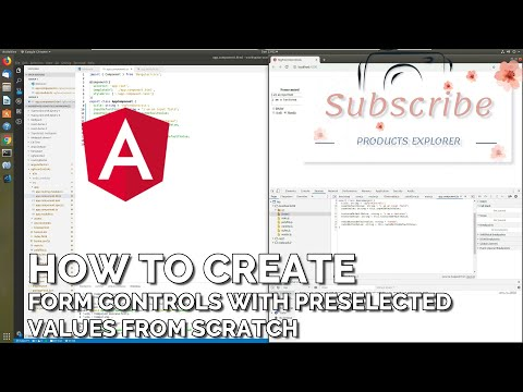 How to Create Form Controls with Preselected Values from Scratch (Tutorial) [Angular] thumbnail