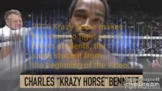 Charles Krazy horse from king of the cage to pride to back stage br...
