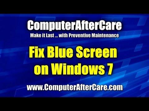 Blue Screen on Windows 7
