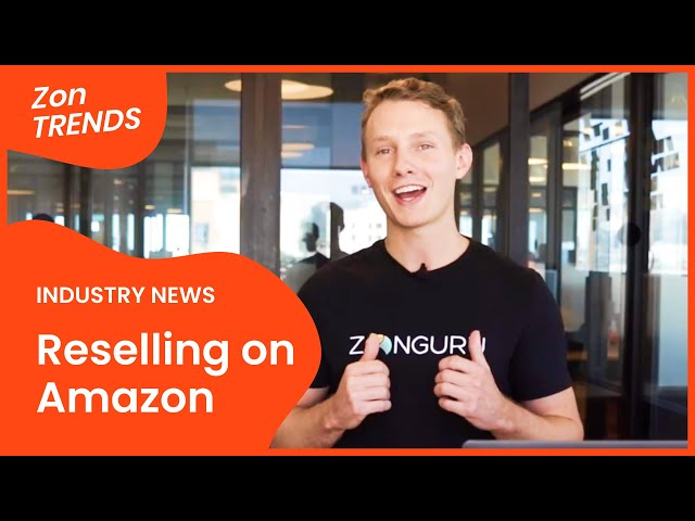 Reselling on Amazon? BAD IDEA! 🚫 #ZonTRENDS News for Amazon Sellers