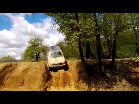 Tata Safari off road