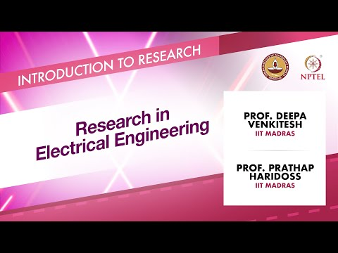 Research In Electrical Engineering