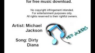 Michael Jackson - Dirty Diana [Official Song With Lyrics and Download]