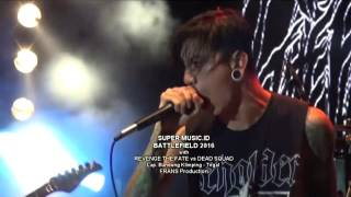 REVENGE THE FATE vs DEAD SQUAD live concert Tegal 2016